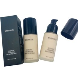 foundation mineralize powder Australia - 2018 new in makeup Mineralize Moisture Foundation Broao Spectauh Liquid 40ml Waterproof Foundation Free DHL Shipping