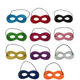 $enCountryForm.capitalKeyWord NZ - 10 Colors Halloween Half Face Masks Superhero Kids Cartoon Eye Masks party Decoration Masquerade Masks Craft Supplies Party Christmas
