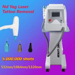 Laser Tattoo Removal Ce Canada - nd yag q-switch laser tattoo removal machine Birthmark removal home use beauty equipment with CE approved