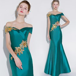 Simple Mermaid Prom Dresses Cheap UK - 2018 Lace Mermaid Sexy Evening Dresses Sweetheart Satin Cheap Prom Dresses Long Elegant Bridesmaid Formal Party Gowns