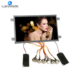 Discount out digital - 10 inch 1080P button control digital optical out indoor lcd multifunction video player