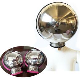 Helmet adult online shopping - 2018 New Design Stainless Steel Spherical Bondage Fist Mitts Helmet Constraint Kits Lock Wrist Bondage Set Adult Game Toy for Couples G7