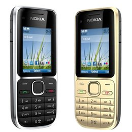 Unlocked cell phone gsm online shopping - Refurbished Original Nokia C2 Unlocked inch Screen Bar Mobile Phone GSM WCDMA G MP Camera FM MP3 MP4 Cell Phone Free Post