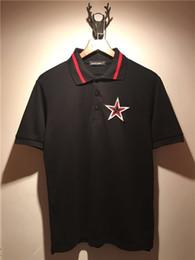 $enCountryForm.capitalKeyWord NZ - 2018 Brand Clothes Mens Polo Shirt Cool Embroidery pentagram Printing Top Shirt for Male Comfort Breath Turn-down Collar Men Polos