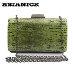 handbag designs patterns 2019 - 2017 Women new fashion snake-pattern design PU hand-shouldered handbag chain clutch dinner female square handbag evening