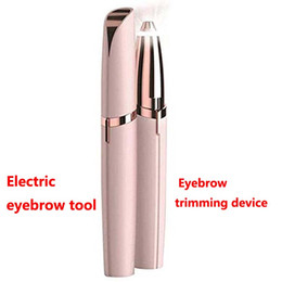Hair removal instrument online shopping - Electric shaver for women Electric eyebrow tool Electric trim eyebrow instrument Eyebrow trimming device shaver Hair removal device