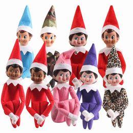 Best Gift For Xmas Australia - 37cm Xmas elf Christmas Doll Christmas Plush Dolls Boy Girl Stuffed Plush Toy Gifts For Kids Children Best Gift