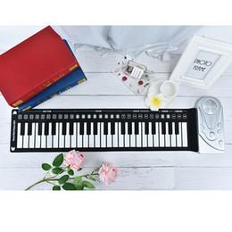 67a58edffe7 Portable 49 Keys 61 keys Flexible Roll-Up Piano MIDI Electronic Keyboard  Hand Roll Piano