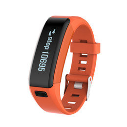 waterproof led wristband Australia - Waterproof NO.1 Smartband F1 LED Silicone Wristbands Sports Intelligent Bracelet With Mobile Phone Calls Heart Rate Monitor