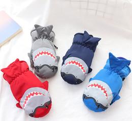 $enCountryForm.capitalKeyWord Australia - Children's ski gloves winter thick cartoon warm waterproof and cold outdoor cartoon shark children's gloves
