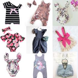 76839e1c0e6e0 2018 Summer Newborn Baby Kids Girls Ruffle Cute Sweet Romper Jumpsuit  Clothes 7 Elegante traje