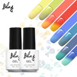 purple gel nail polish 2018 - Art Gel BILING 6ml UV Nail Temperature ChangingGel Polish Quick Dry Gel Nail Polish Long Last Gelpolish Vernis Semi chea
