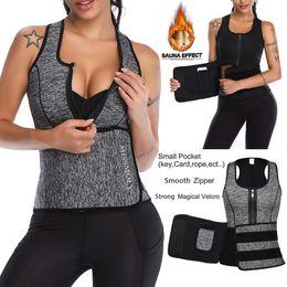 693aecd0201 Neoprene Sauna Waist Trainer Vest Hot Shaper Summer Workout Shaperwear  Slimming Adjustable Sweat Belt Fajas Body Shaper  USPS
