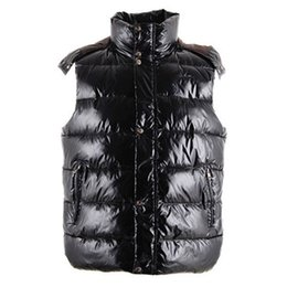 $enCountryForm.capitalKeyWord Canada - Fashion Winter Down Vest Men's Warm Vests Brand Clothing For Men Padded Sleeveless Designer Jacket Waistcoat Online Sale