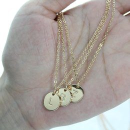 14k gold initial pendant australia new featured 14k gold initial 14k gold initial pendant australia round dainty gold name necklace 26 initial personalized charm pendant aloadofball Image collections