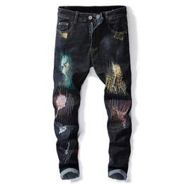 03e9c7b7e Jeans hombre moderno online-Vaqueros de los hombres de la calle de American  American Fashion