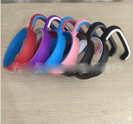 Wholesale 6 Colors Portable Plastic Hand handle Holder Mugs Portable Hand Holder For Tumbler oz Cups Handle Free EMS