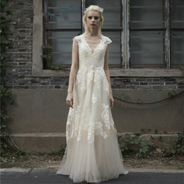 Vintage Cocktail Lace Wedding Dresses NZ - Vintage Lace Boho Wedding Dress robe de mariage gelinlik Beach Lace Wedding Dresses 2018 Plus Size vestido de noiva de renda