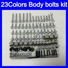 Fairing Bolts Zx UK - Fairing bolts full screw kit For KAWASAKI NINJA ZX6R 09 10 11 12 ZX-6R 6 R ZX 6R 2009 2010 2011 2012 Body Nuts screws nut bolt kit 25Colors