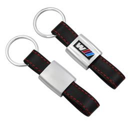 $enCountryForm.capitalKeyWord Canada - Fashion Leather Metal Car Logo key ring keyring keychain key chain Car Styling Universal for BMW auto M 1 3 5 X6 X1 X3 X5 E3 E5 Z4