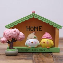 $enCountryForm.capitalKeyWord NZ - 2018 New Arrival Creative Zakka Small Cute Resin Mini Chicken Design Art Handicraft Easter Ornament Gift for Home Decoration -Free shipping