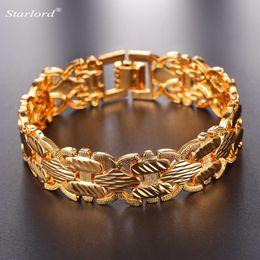 $enCountryForm.capitalKeyWord NZ - ashion Jewelry Bracelets 2017 New Brand Design Bracelet With 17 MM Width Fashion Gold Silver Color Bracelet 21 CM For Women Men Gift Jewe...