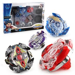 Discount beyblade strings - Beyblade BB804A Burst Arena Metal Fusion Set 4pcs Gyro Starter Set with Launchers Starter String Boosters Beyblades Toys