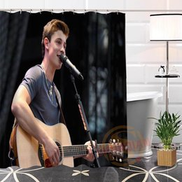 Best Bath showers online shopping - Best Nice Custom Shawn Mendes Shower Curtain Bath Curtain Waterproof Fabric For Bathroom MORE SIZE WJY
