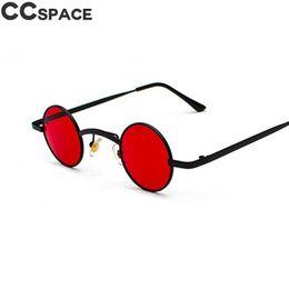 wholesale hip hop women sunglasses 2019 - 47725 Small Round Retro Steampunk Luxury Sunglasses Men Women Hip-hop Shades Vintage lasses Designer Fashion Oculos UV40