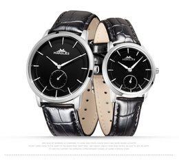 $enCountryForm.capitalKeyWord Canada - 2018 new MARGUES brand Quartz watch for Couple lovers simple Small dial fashion watches waterproof leather strap clock 021