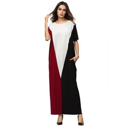 92bf86031b Women Maxi Dress Winter Abaya Warm Knitted Cotton Thickening Long Robe  Gowns Muslim Middle East Arab Islamic Clothing