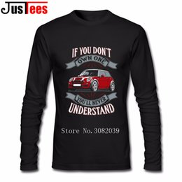 Cat T Shirts Mens 80S Vintage Streetwear mini cooper owner Tee Tees for Men  Long Sleeve Boy T Shirts Big and Tall