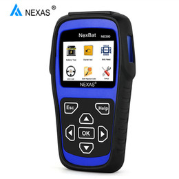 System Car NZ - NEXAS NB380 12V 24V Car Battery Tester OBD OBD2 100-2000 CCA Charging System Tester Analyzer Automotive Scanner BMS Reset