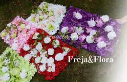 $enCountryForm.capitalKeyWord NZ - luxury finished product artificial rose flower silk decor flower Road wedding flower Bouquet hotel background wall decor DIY