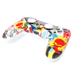 silicone controller UK - Multicolor Silicone Cover + 2 Joystick Caps Kit For Dualshock 4 PS4 Controller