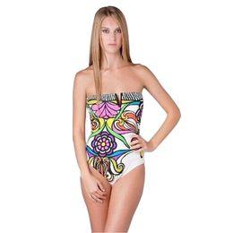 69405d5be8001 Summer Russia Women Polyesterl Swimsuit Full Body Bodysuit Girl Sportswear  swimwear Sexy Yellow Leotard Print High Waist One Piece Bikini