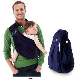 $enCountryForm.capitalKeyWord Australia - 2018 BabaSling carrier Suspender cotton Breathable Infant Carrier Adjustable Newborn wrap Sling Backpacks Sponge Baby Suspenders