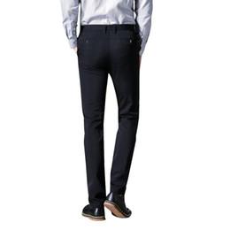 01fb815d1e5 OSCN7 Business Stretch Mens Trousers Plus Size Casual Formal Suit Pants Men  Slim Fit Leisure Pantalon Hombre 803