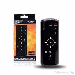 dvd remote control sony Canada - TP4-010 Bluetooth 3.0 Wireless Game Media Bluray DVD Remote Controller Remote Control for Sony for PlayStation 4 PS4