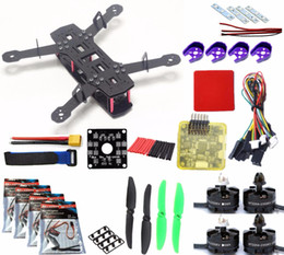 Vente en gros Kit de quadricoptères pour cadre QAV250 Mini 250 FPV RC Kit de cadre pour drone en fibre de verre H250 avec carte de distribution de l'alimentation pdb pour ZMR250