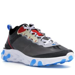 China 2018 Dark Grey Photo Blue Epic React Element 87 Undercover Men Casual Shoes For Women Designer Sneakers Sports Trainer Shoes Parra Rainbow supplier courts orange suppliers