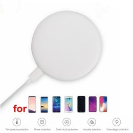 galaxy s9 plus charger Australia - Wireless charger charging pad for iPhone X 8 Plus millet MIX 2S Galaxy S9