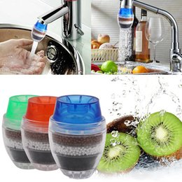 2018 New Household Cleaning Water Filter Mini Kitchen Faucet Air Purifier Water Purifier Water Filter Cartridge Filter Free DHL HH7-864 on Sale