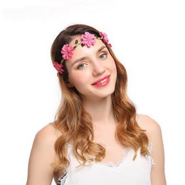 Apparel Accessories Girl's Hair Accessories Women Hair Accessories Hair Band Headband Sexy Flower Lace Bunny Ears Hairband Girls Female Party Prom Headwear Headdress Elegant And Graceful