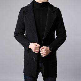Jackets & Coats Men's Clothing Fashion Thin Mens Jackets Hot Sell Casual Wear Korean Comfort Windbreaker Autumn Overcoat Necessary Spring Men Coat M-3xl Ml097