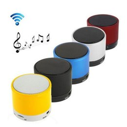 $enCountryForm.capitalKeyWord NZ - Bluetooth Speaker Stereo Mini Speakers Portable Blue tooth Subwoofer MP3 Player Music USB Player Party Speaker For Phone Gifts S10 New Cool