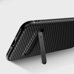 samsung galaxy slim mobile UK - TOTU Slim Cover for Iphone xs max case Carbon Fiber mobile case Soft TPU For Galaxy S9 S9+ phone case