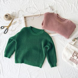 763398217 Kids Girl Autumn Winter Clothings Knitted Sweaters Fashion Korean Girl  Vintage Clothes