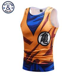 028300c4b54871 New Bodybuilding Dragon Ball Tank Tops Men Anime Tops Naruto vest Fitness  Tops Tees super saiyan singlets Mr.BaoLong   Miss.GO