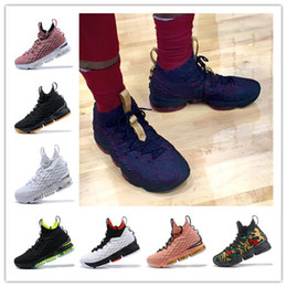 pink boxing shoes for men 2018 - WITH BOX 2018 New XV 15 Equality BHM Graffiti Mens Basketball Running Designer Luxury Brand Sports Shoes for Men Trainer